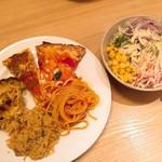 ブッフェ フォー ルームス - 僕の取った料理