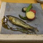 浅草じゅうろく - 天然鮎のコンフィ