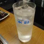 丹波亭 - シークゥワーサー偽物サワー450円+税