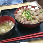 名鉄レストラン  - 牛タンパワー丼
