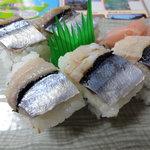ロンク食堂 - さんま寿司