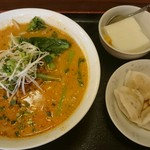 和風・中華居酒屋 龍馬 - 四川濃厚胡麻担々麺と手作り水餃子