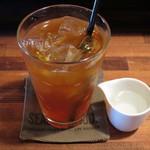 喫茶 オモカゲ - 喫茶オモカゲ今日のスパイスカレー(アイスティー)