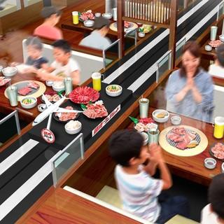 ★たくさんのお肉をタッチパネルでお選びください♪