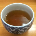 とんかつ山家 - 冷たい麦茶