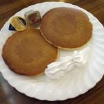 ロン - ジャンボホットケーキ(\500)