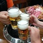 名古屋ビール園 浩養園 - 乾杯!