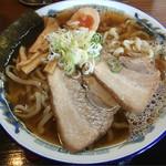 幸めん - エソ煮干し中華そば(大盛)醤油味  750円