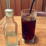 円町リバーブ - 水出しアイスコーヒー。ランチドリンクセット時には200円引(実質100円)。いいね!