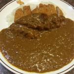 味のガンジス - カツカレールー大盛り