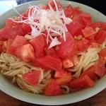 54974722 - トマトたっぷり冷麺