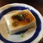 そば日和 - 胡麻豆腐