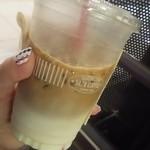 サザコーヒー - アイスカフェラテ ラージ