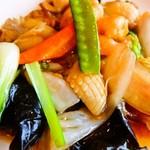 中華料理 福楽餃子坊 - 料理写真:八宝菜