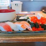 回転寿司 魚河岸 - レデースランチ