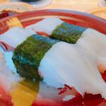 回転寿司 魚河岸 - 茹でタコ