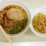 小谷サービスエリア上り線 - ラーメン&炒飯