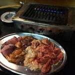 大衆焼肉 ジンギスカン - お肉