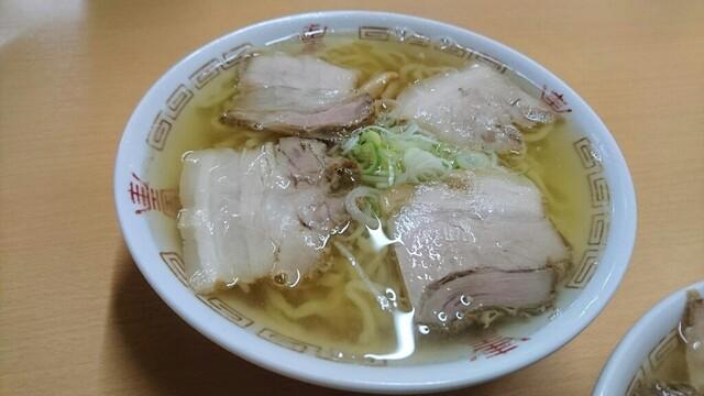 坂内食堂 - 支那そば(中華そば)
