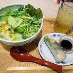 COMPHO - 豆乳グリーンカレーフォー(780円)
