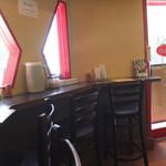 けらら - 昔の喫茶店のような店内