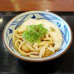 丸亀製麺 - とろ玉うどん冷並(410円)