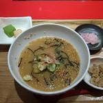 関西おだし専門店 だし蔵 だし茶漬け - 宮崎郷土料理 冷や汁セット 780円