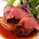 キクチ - 料理写真:北海道美幌産A5黒毛和牛メス牛36ヶ月のステーキ