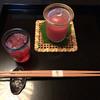 昇月 - 料理写真:すももジュースとトマトのすりながし