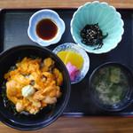 磯焼亭 - 生うに丼 ¥4,500