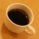 ティーヌン - ランチのプチビュッフェの『コーヒー』2016年8月