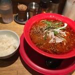 船場担担麺 - 四川式濃厚担担麺780円ライス付き