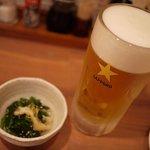 TORI扇 - ビールはサッポロ