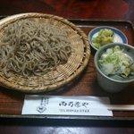 西乃茶や - 大盛りザル蕎麦