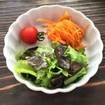 リトルクックー - ドリンク&サラダセットのサラダ