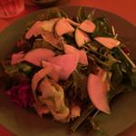 シンガポールスタイル・コピティアム - 生野菜サラダ