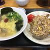 瀬戸内ラーメン 大島 - 料理写真:あさりラーメン Aセット