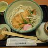 南部家敷 - 料理写真:とりかつおろしそば ¥780+税