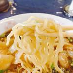 アクセスサッポロ レストラン ライラック - 麺箸上げ