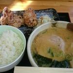 すずなり - ちび白味噌 から揚げ 710円