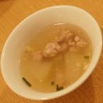 ティーヌン - ランチのプチビュッフェの『冬瓜のスープ』2016年8月