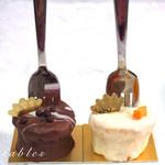 タブレス - フォークケーキ