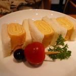 自家焙煎珈琲 ICHI no KURA coffee&soft cream - タマゴサンド(ハーフサイズ)