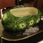 54999698 - 冬瓜の冷製スープ