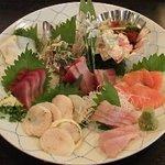江戸前きよ寿司 - 3,000円料理の一品、刺身盛り合せ