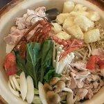 江戸前きよ寿司 - 3,000円料理の一品、寄せちゃんこ鍋
