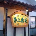 江戸前きよ寿司 - この看板が目印です