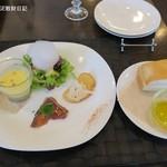 グラティア - 前菜4種とフォカッチャ