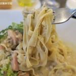 グラティア - 塩味は強くなくポルチーニの味が前面に出る