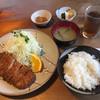 割烹 とんかつ松村 - 料理写真:とんかつ定食 2016.8